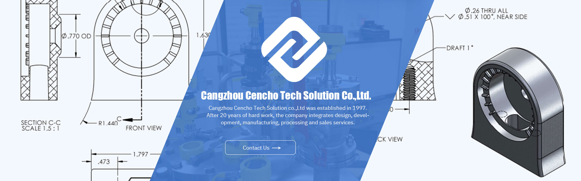 Cangzhou Cencho Tech Solution Co., Ltd.