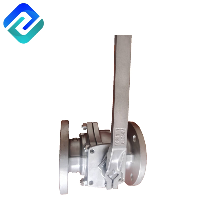 2 Piece Full port Ball valve (Flanged) 1/2''~12'' 150LB/300LB AISI 304