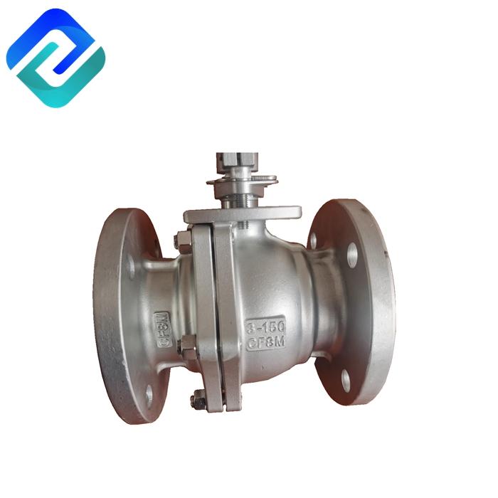 2 Piece Full port Ball valve (Flanged) DN80,PN16 (Cl