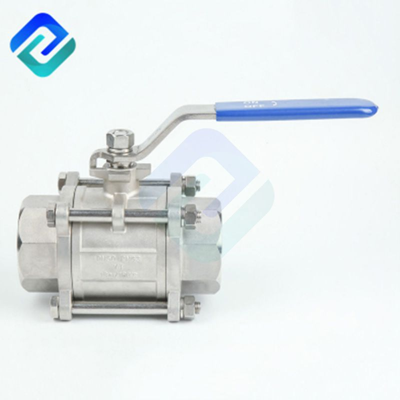Hot selling stainless steel 3 pcs 1/4~4 inch stainless steel 304/316 ball valve