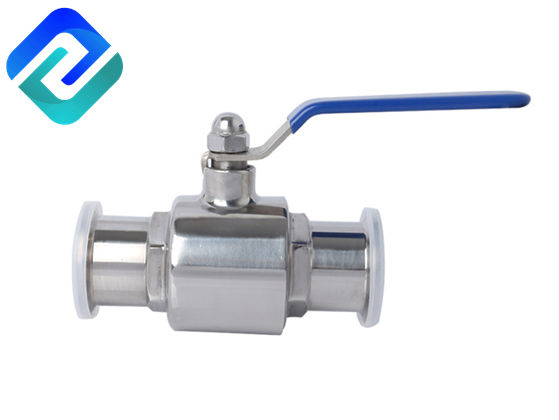 304 stainless steel sanitary ball valve 316L quick-opening clamp food-grade quick-connect valve