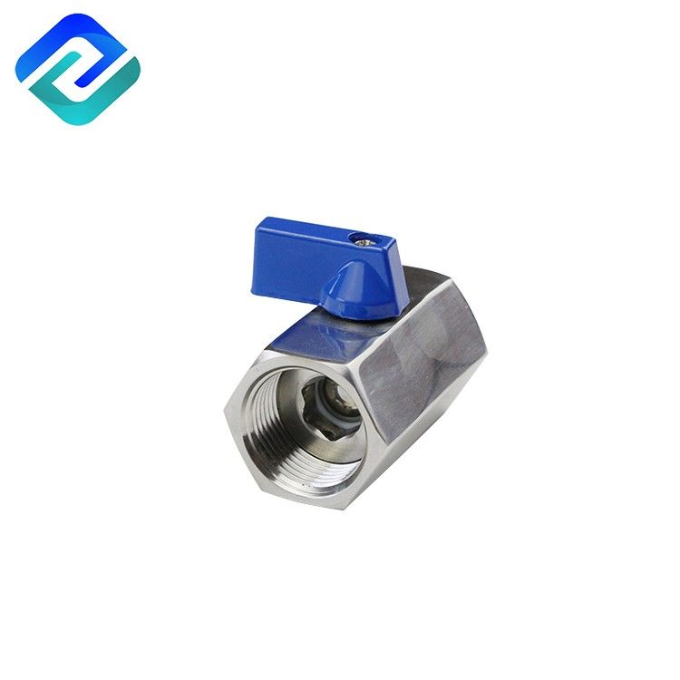 Superior quality stainless steel 1000 wog female mini ball valve for machine