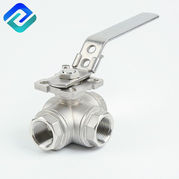 Reliable quality sanitary stainless steel high platform tri clamp 3 way ball valve