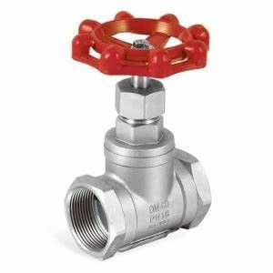 Stainless Steel NPT BSPT Mannual Operate Thread Gate Valve