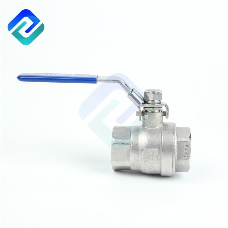 Full bore 304/316 thread stainless steel ball valve