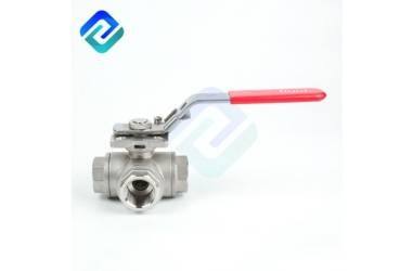Working Principle of Stainless Steel Three-Way Ball Valve