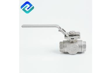 Features And Working Principle of Three-Way Ball Valve