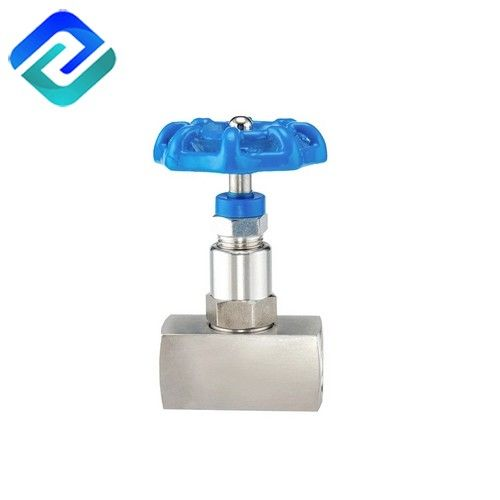 Bar Stock Stainless Steel 6000 PSI 1/2 Female NPT Threaded High Pressure Needle Valve
