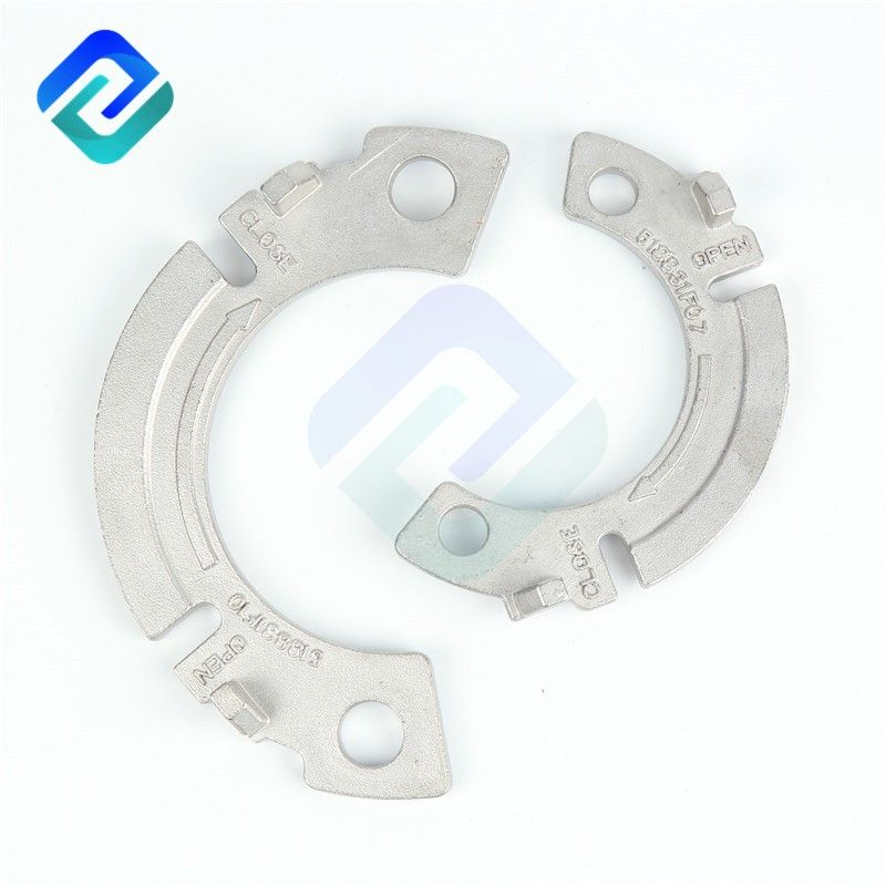 Rational construction lost wax precision investment casting machined parts