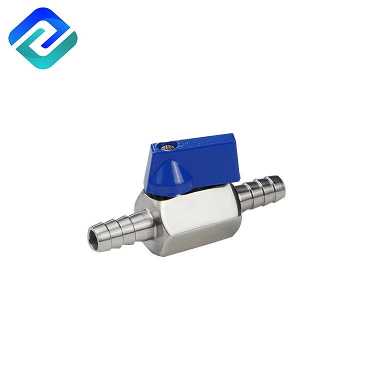 Wide varieties 304/316 Stainless steel hose bar mini ball valve