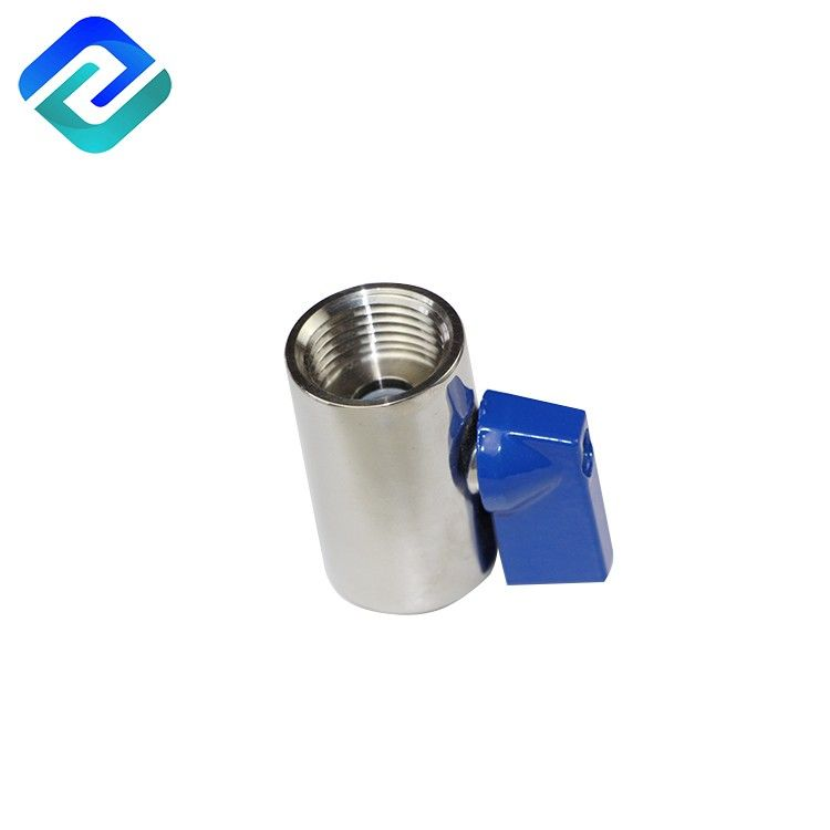 Stable quality stainless steel 304 polished mini ball valve