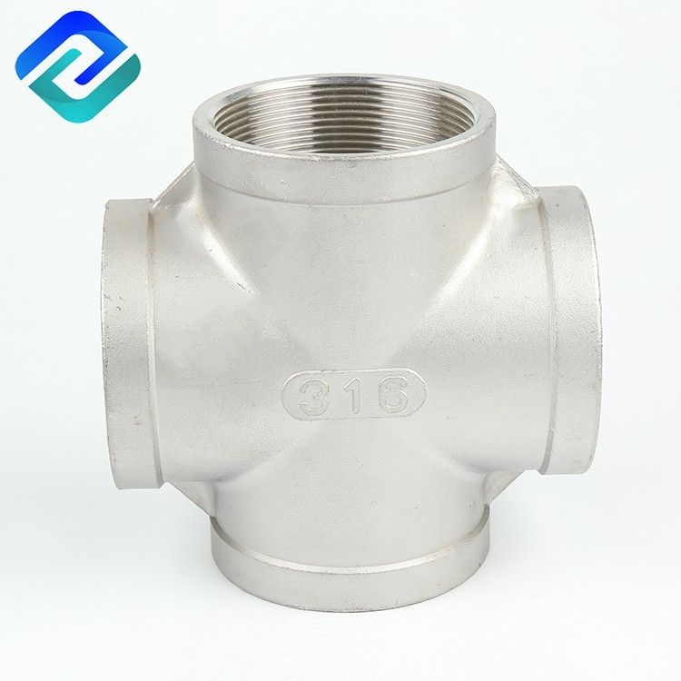 Stainless steel investment steel pipe transition fittings crosses