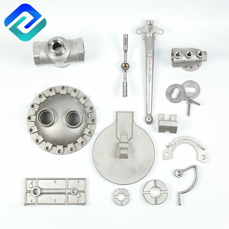 oem invest cast CF8M/CF8/WCB steel lost wax casting spare parts