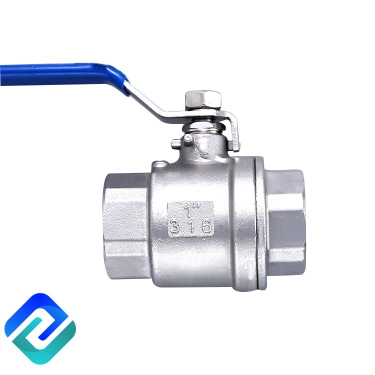 High Quality China Made 2 pc 304/316 stainless steel 1 inch ball valve price