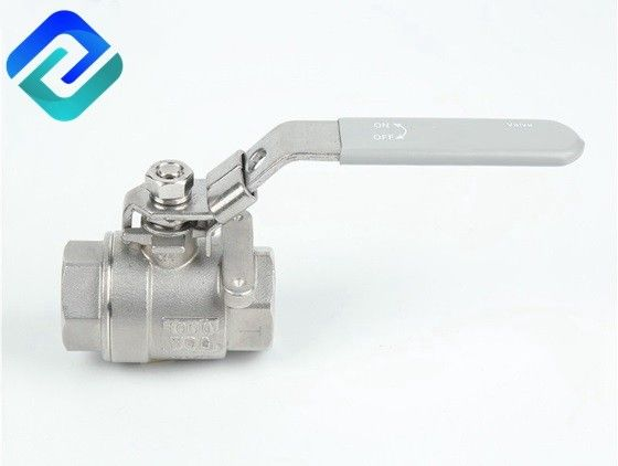 2PC stainless steel 304 316 ball valve