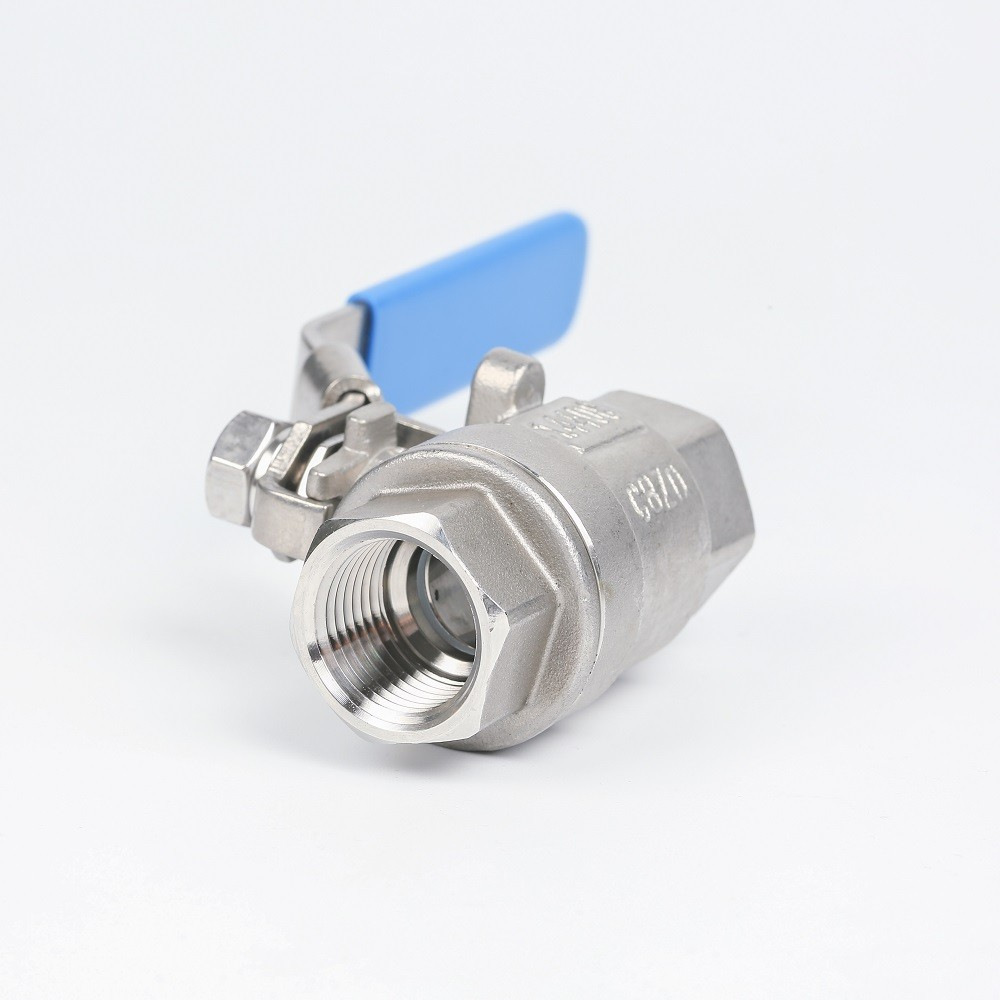 Stainless steel high pressure 304/316 ball valve with lock