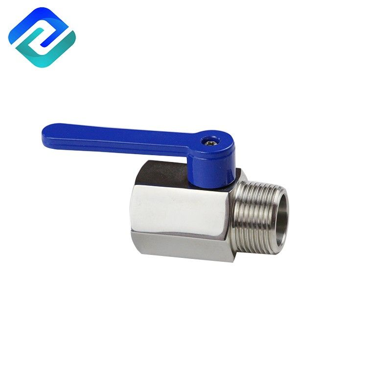 Mini ball valve with 1000 psi pressure PN 63 Stainless steel 316 mini ball valve male thread