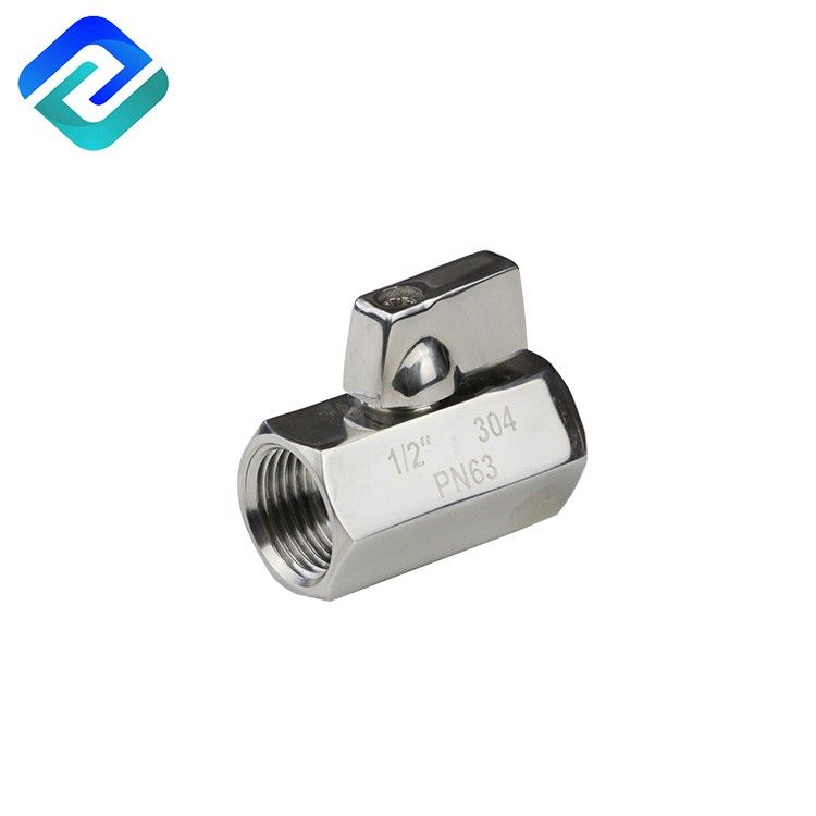 304/316 stainless steel female- female male-female male-male mini ball valve