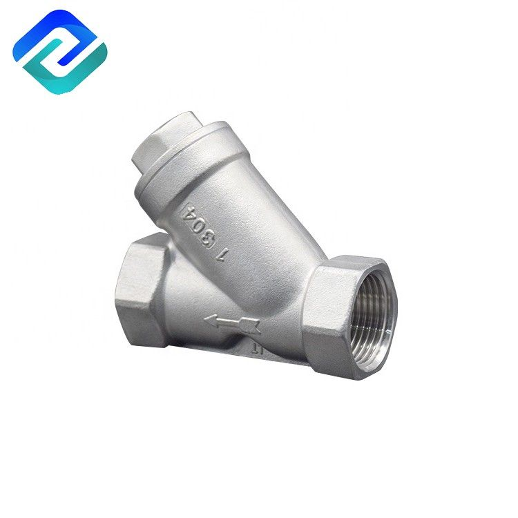 800PSI 4 Inch SS Natural Gas Y Strainer Thread End NPT