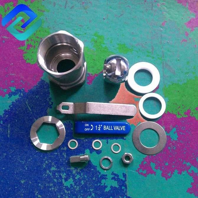 cf8m stainless steel high pressure ball valve