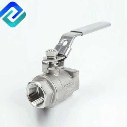 2PC stainless steel 304 316 ball valve