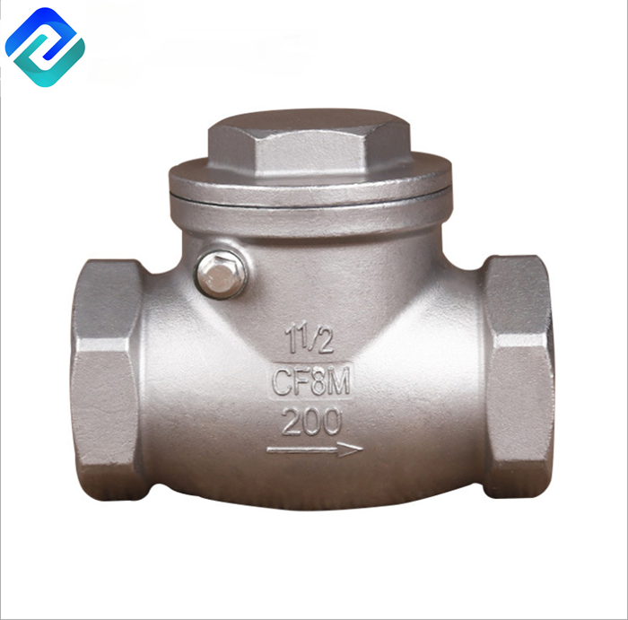 Precision casting swing check valve