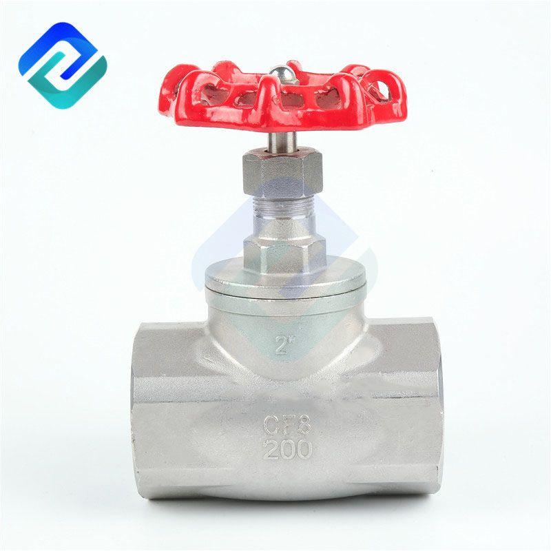 Precision casting internal thread globe valve