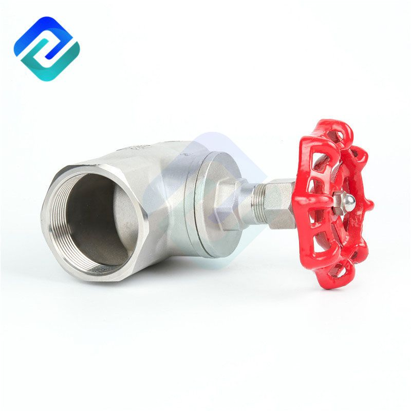 Precision casting internal thread globe valve