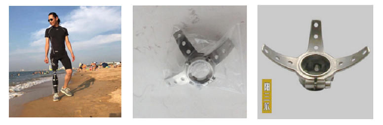 OEM 304 stainless steel three-claw connector precision  lost wax casting parts