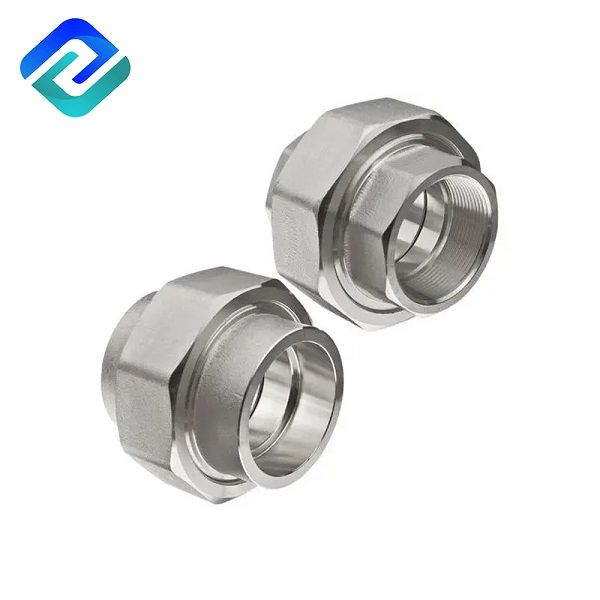 304/316 stainless steel joint sanitary pipe transition fitting welding Union