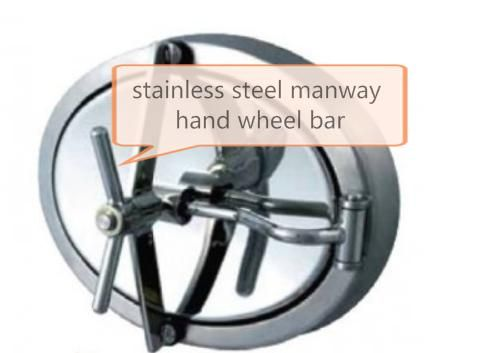 CF8 stainless steel lost wax casting handle level used for brewing equipment and Manhole