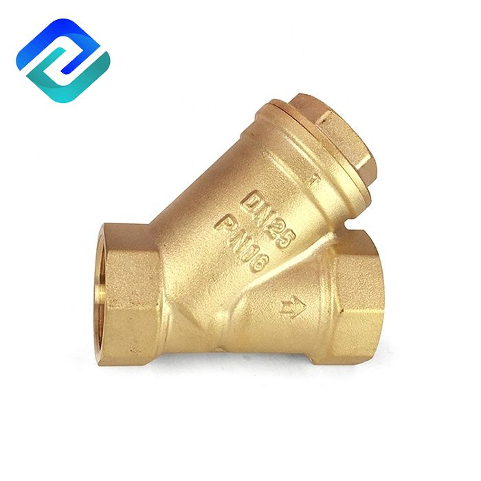DN15 316 Stainless Steel Brass SS Y Strainers Filter Manual Mesh Insert